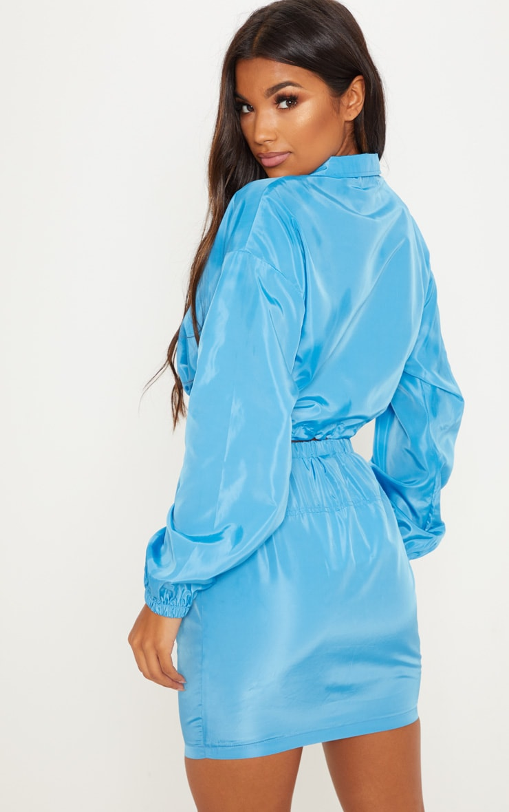 Blue Shell Suit Jacket 2