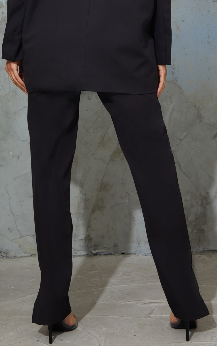 Maternity Black Bump Support Suit Trousers 3