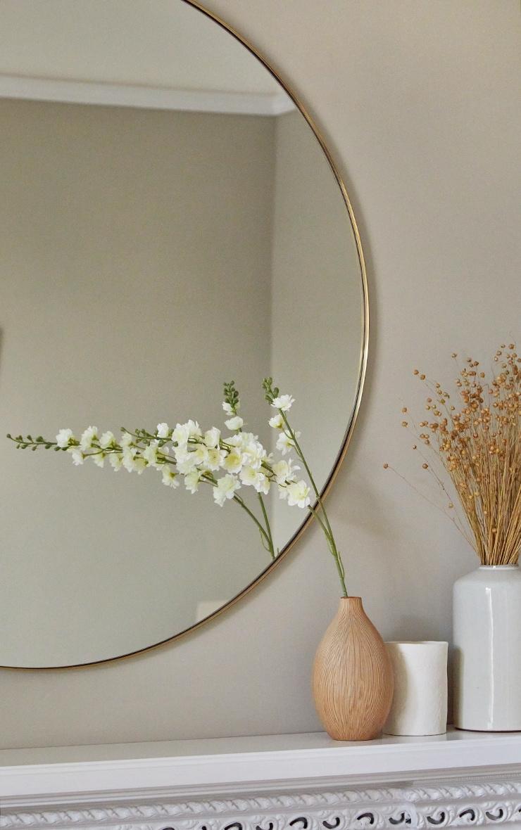 White Silk Double Stem Artificial Flower 1