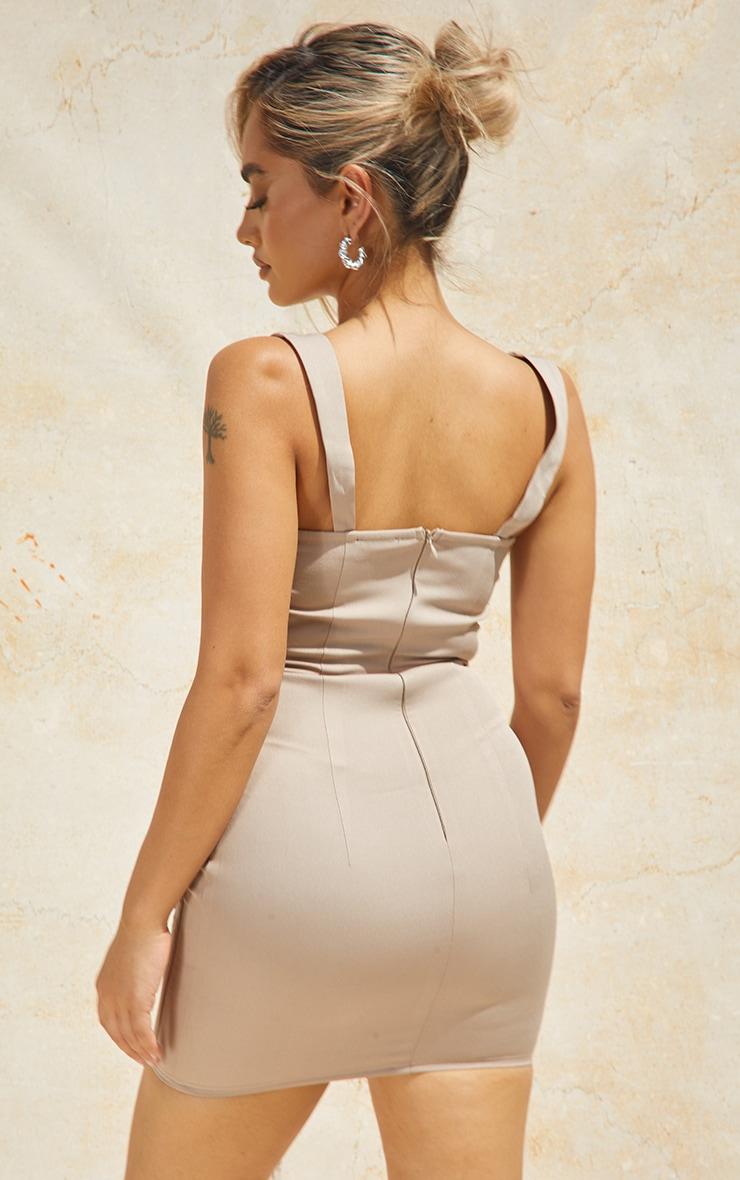 Petite Stone Strappy Corset Detail Dress 2