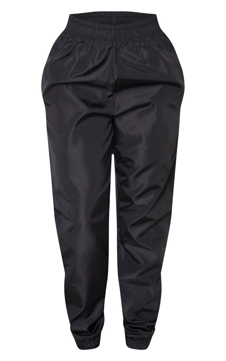 Shape Black High Waist Shell Jogger 3