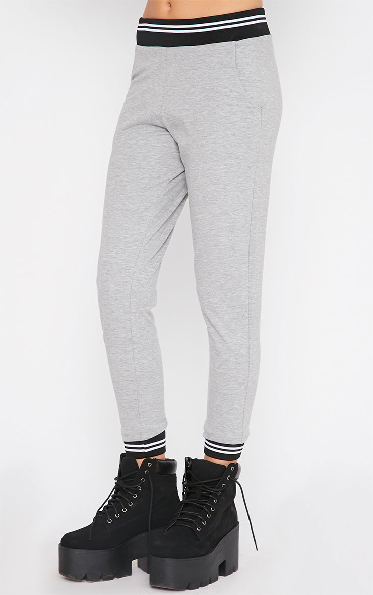 Scarlett Grey Sports Trim Leggings 3