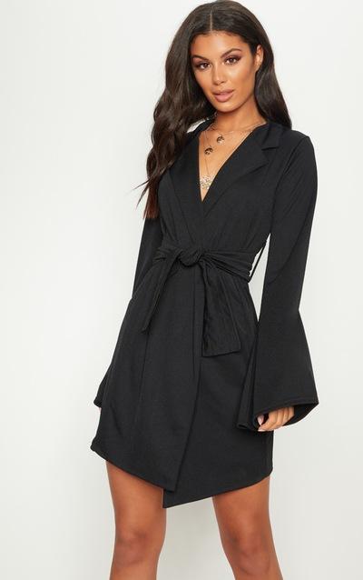 Blazer Dresses Tuxedo Style Dresses Prettylittlething Ie