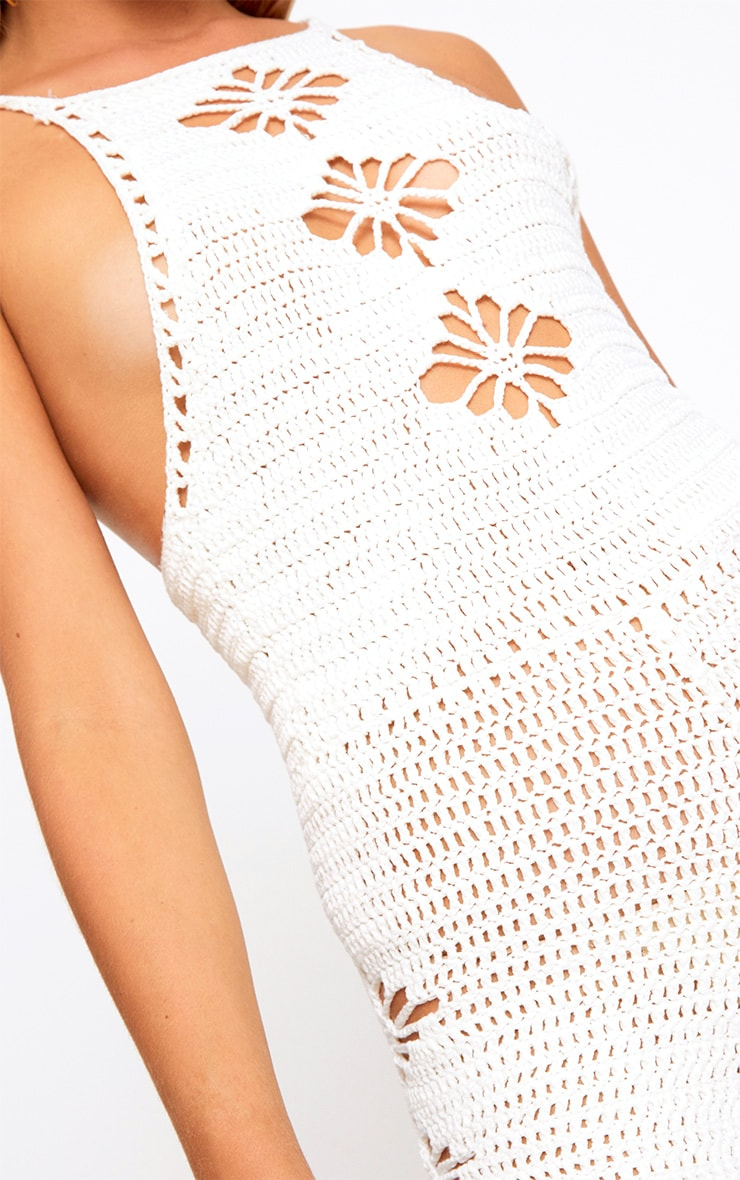 Cream Crochet Playsuit  5