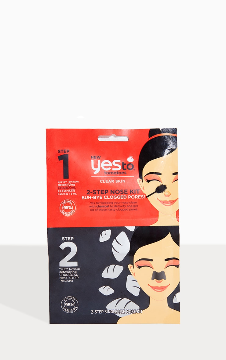 Yes To Tomatoes 2-Step Buh-Bye Blackheads! Nose Kit 1