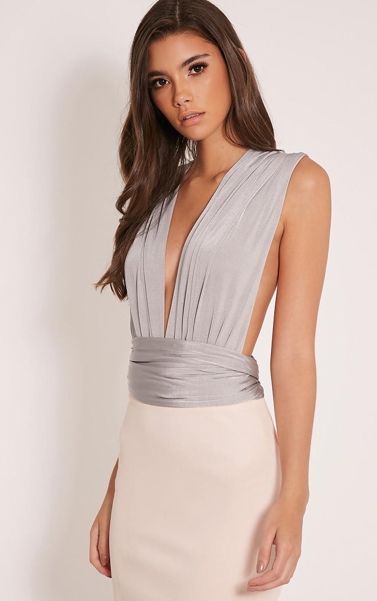 Liddia Silver Multiway Bodysuit 7