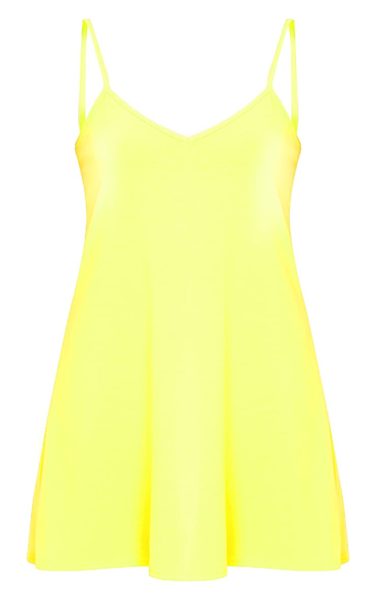Alina Lemon Swing Playsuit 3