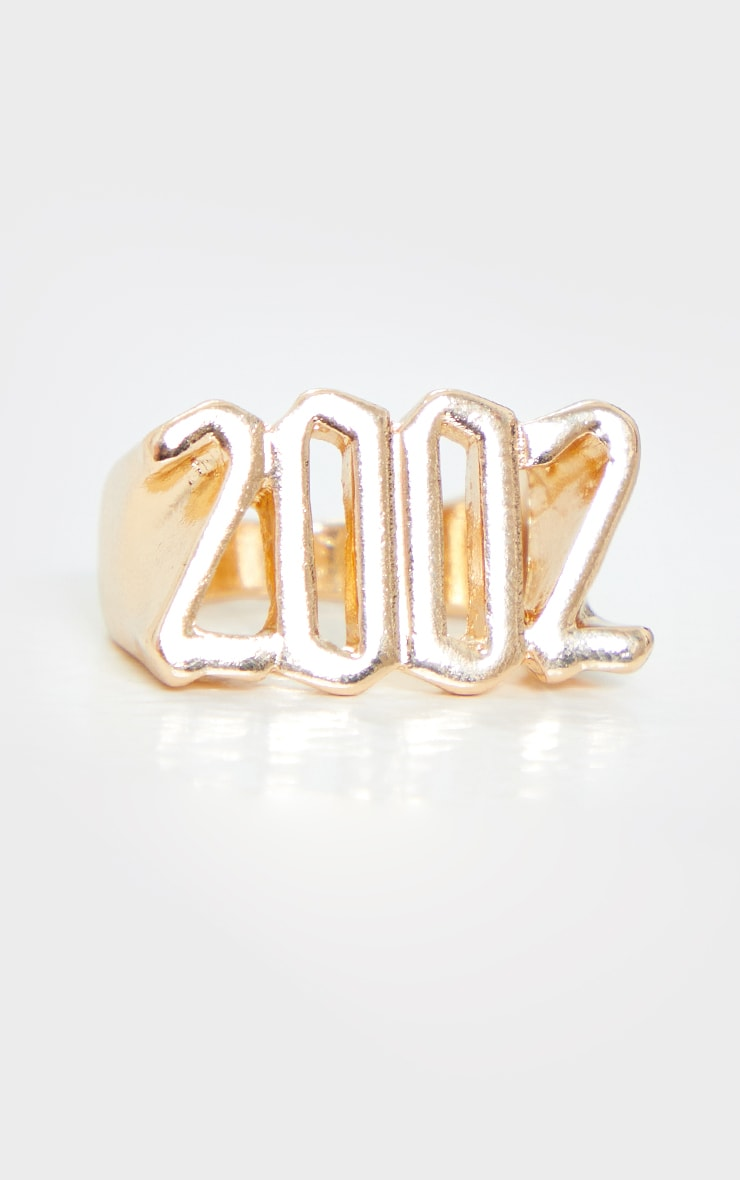 2002 Gothic Font Ring 2