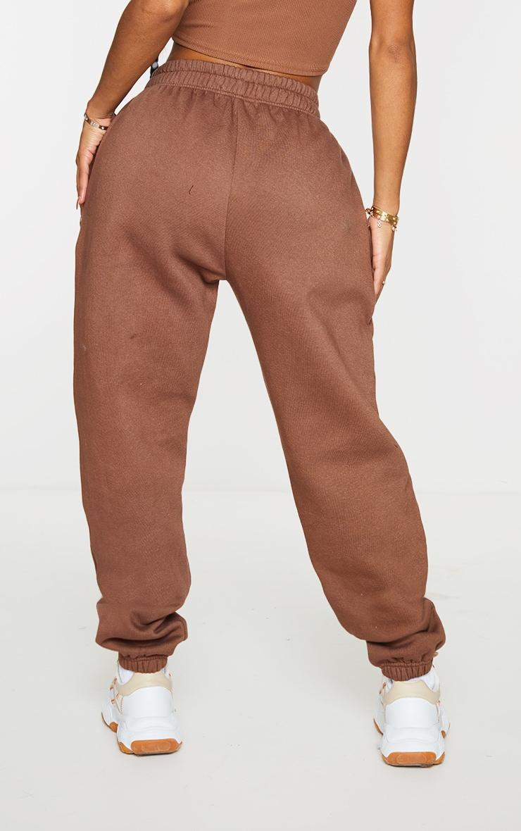 Shape Brown High Waist Pocket Detail Joggers 3
