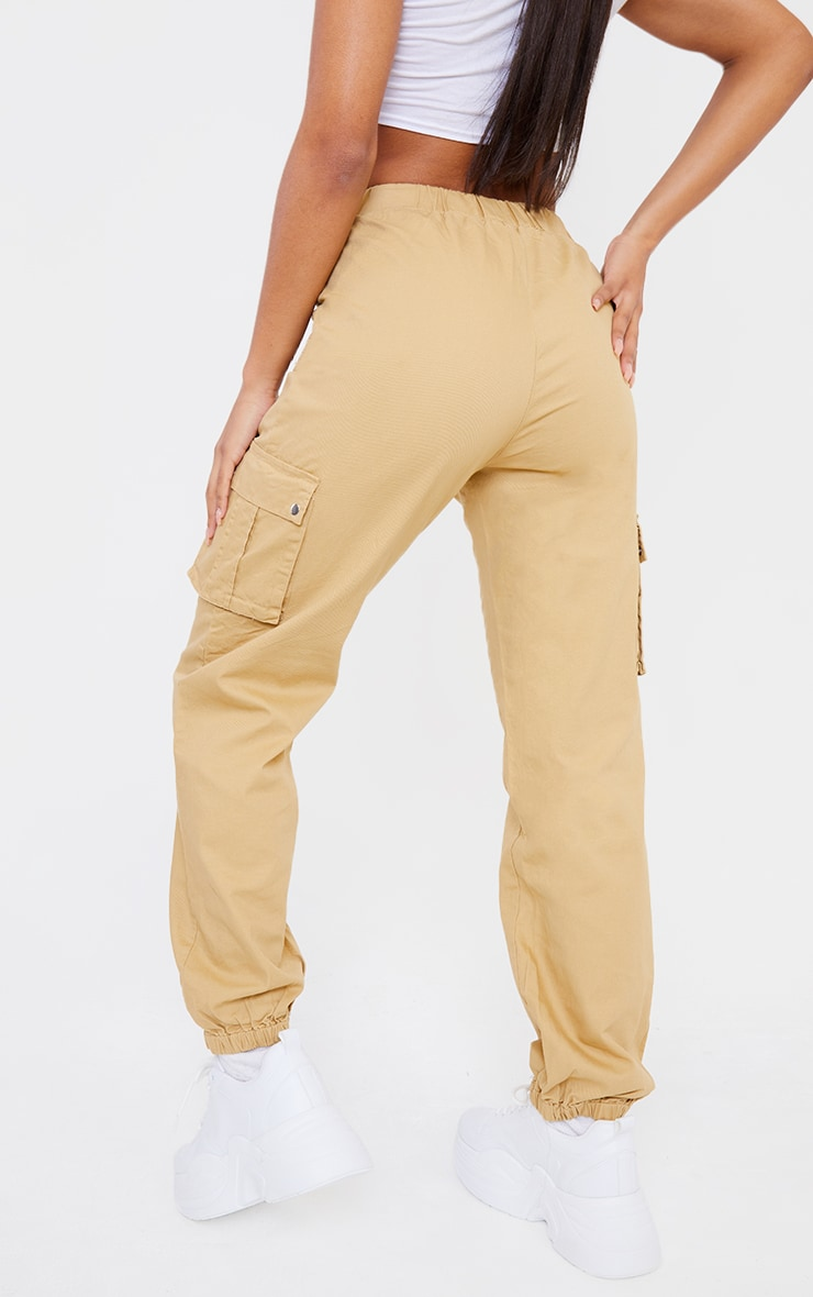 Stone Pocket Detail Cargo Trousers 3