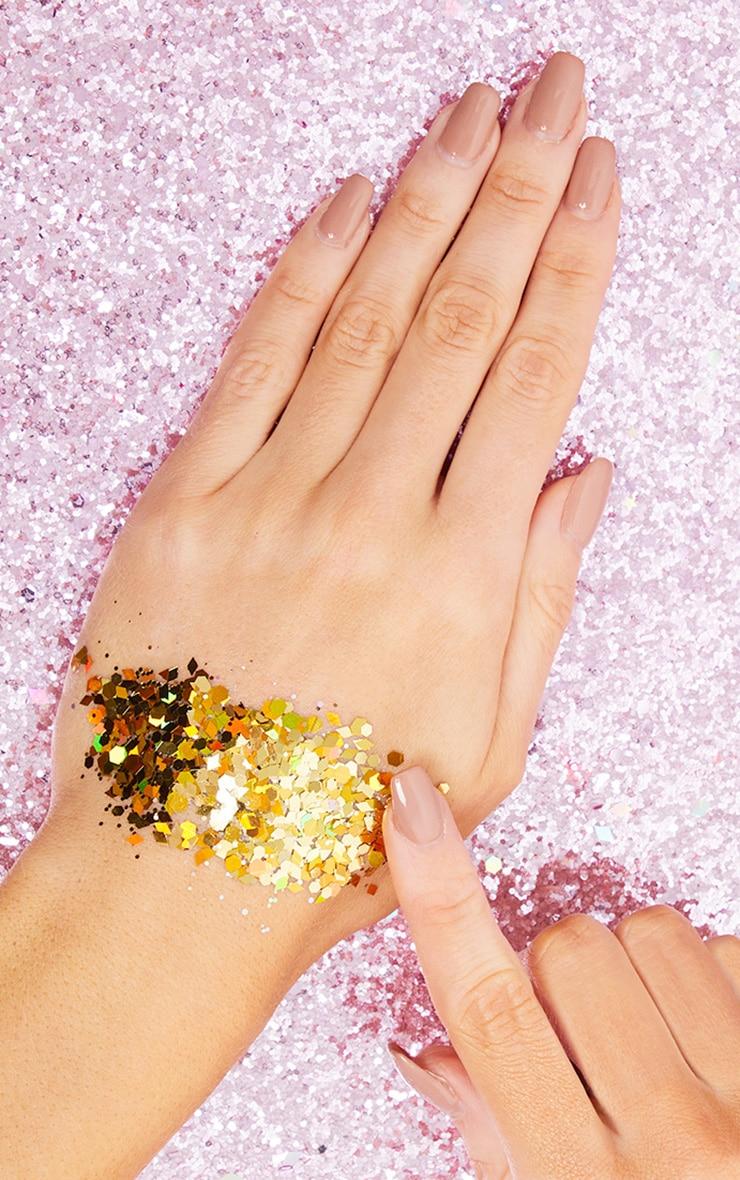 The Gypsy Shrine Chunky Gold Glitter Bag 2