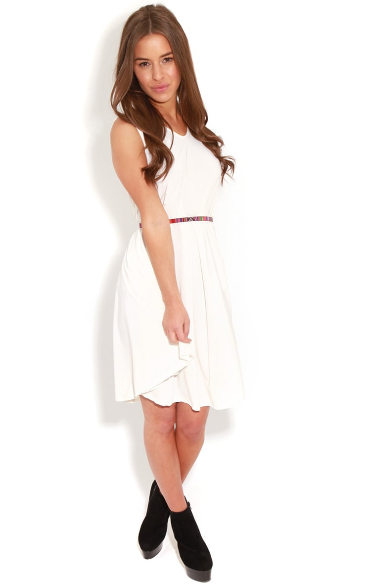Anita White  Swing Dress 3