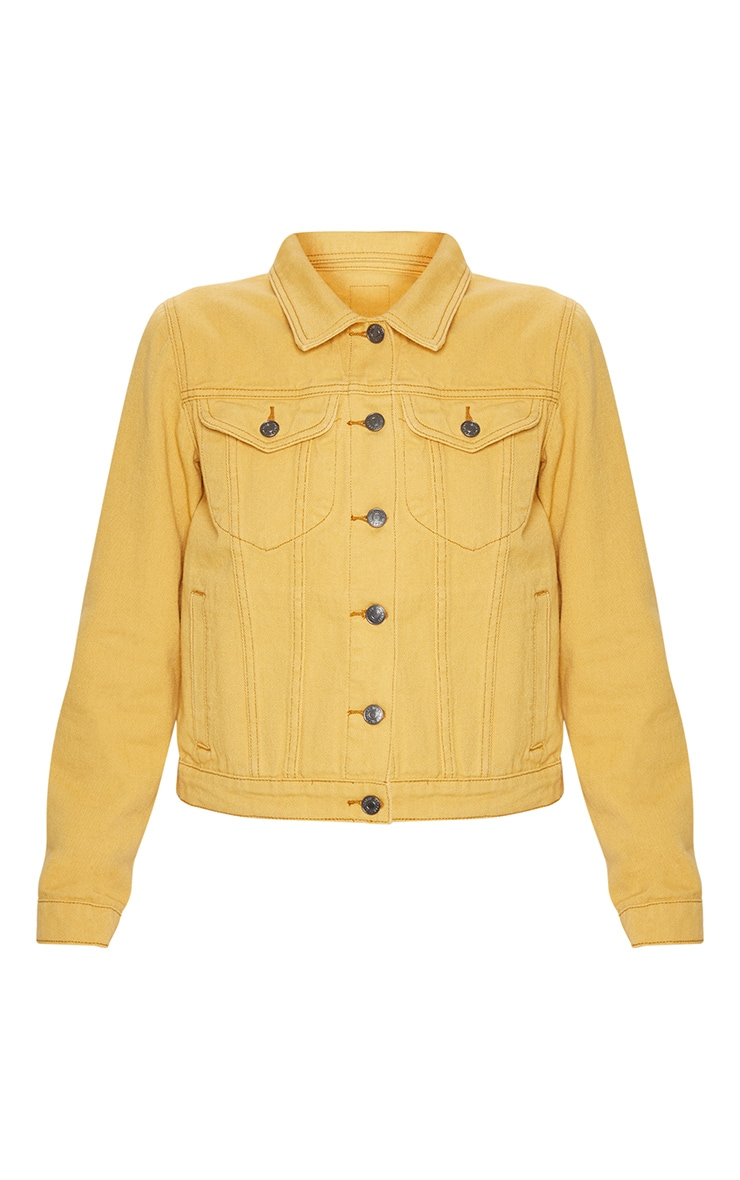 Denim Yellow Jacket 3