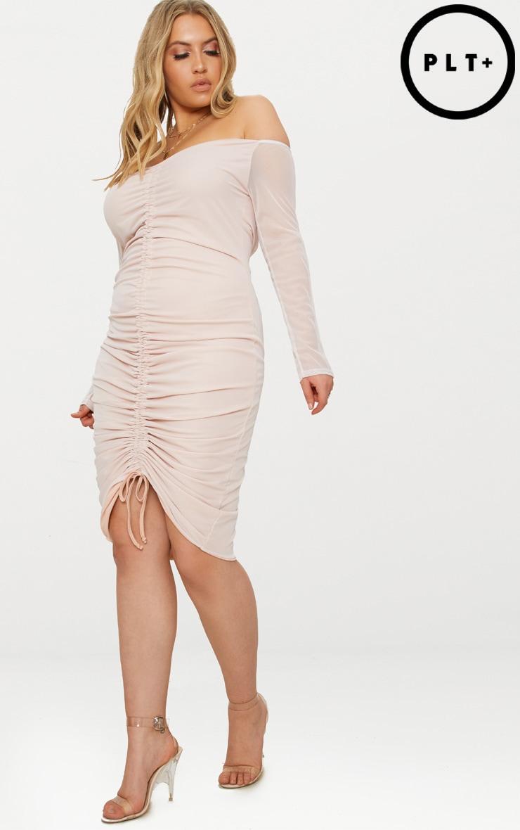 Plus Midi Dresses