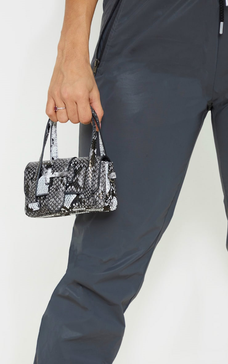 Grey Snake Extra Mini Bag 1