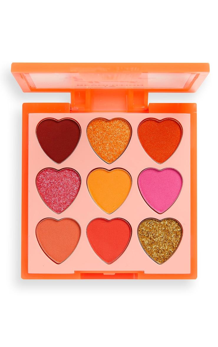 I Heart Revolution Heartbreakers Palette Fiery 3