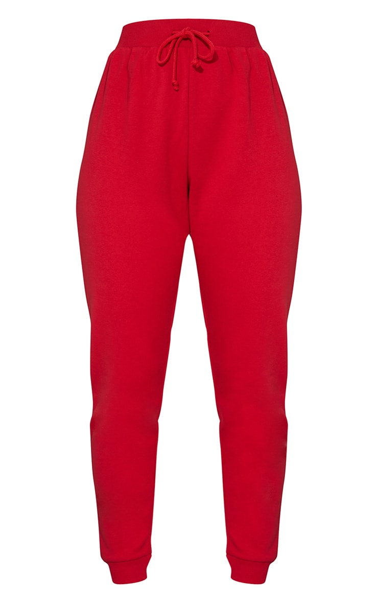 Red Ultimate Sweat Joggers 5