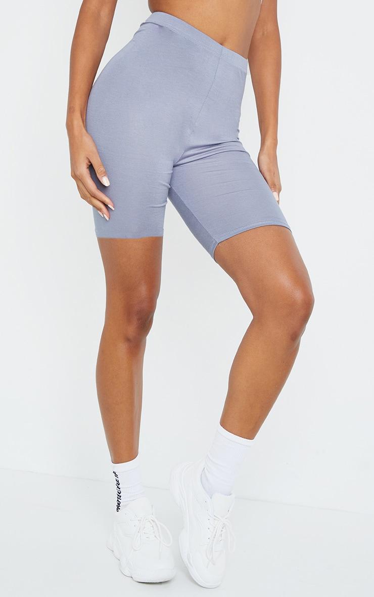 Steel Blue Basic Bike Shorts 2