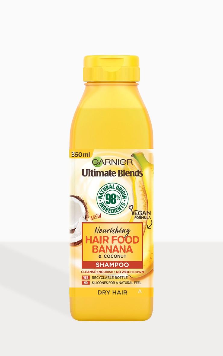 Garnier Ultimate Blends Nourishing Hair Food Banana Shampoo 350ml 2
