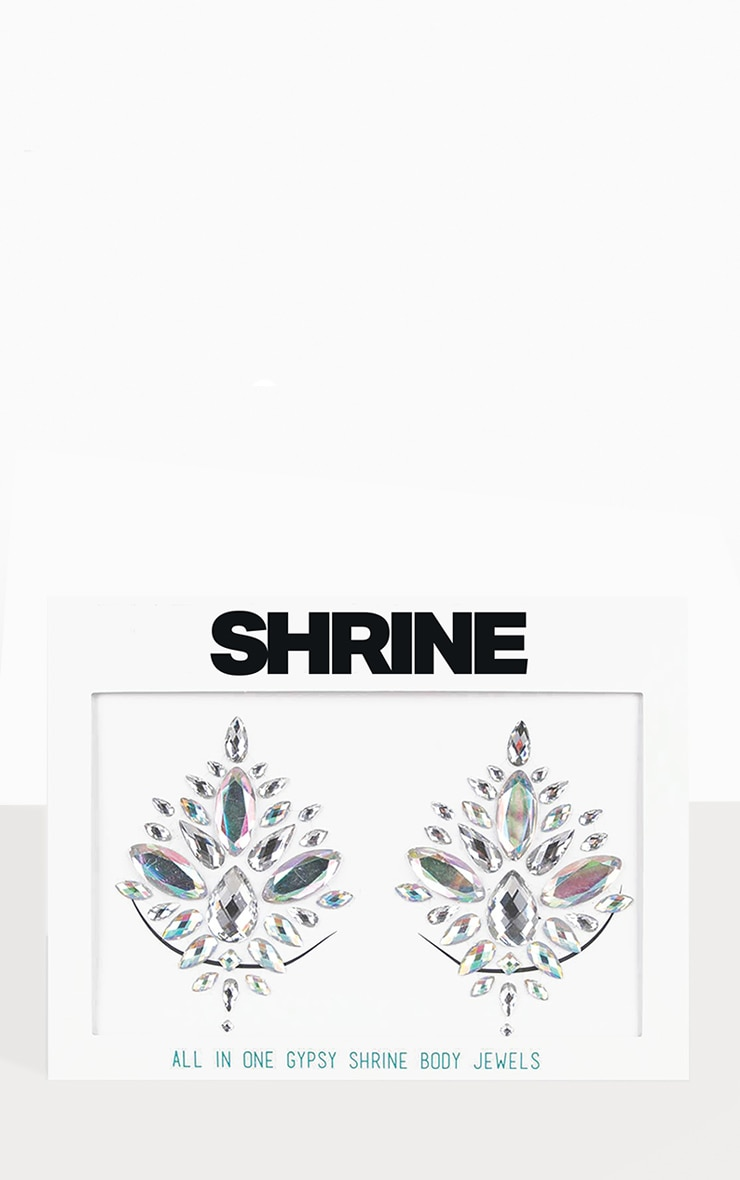SHRINE Silver All In One Body Boob Jewels 1