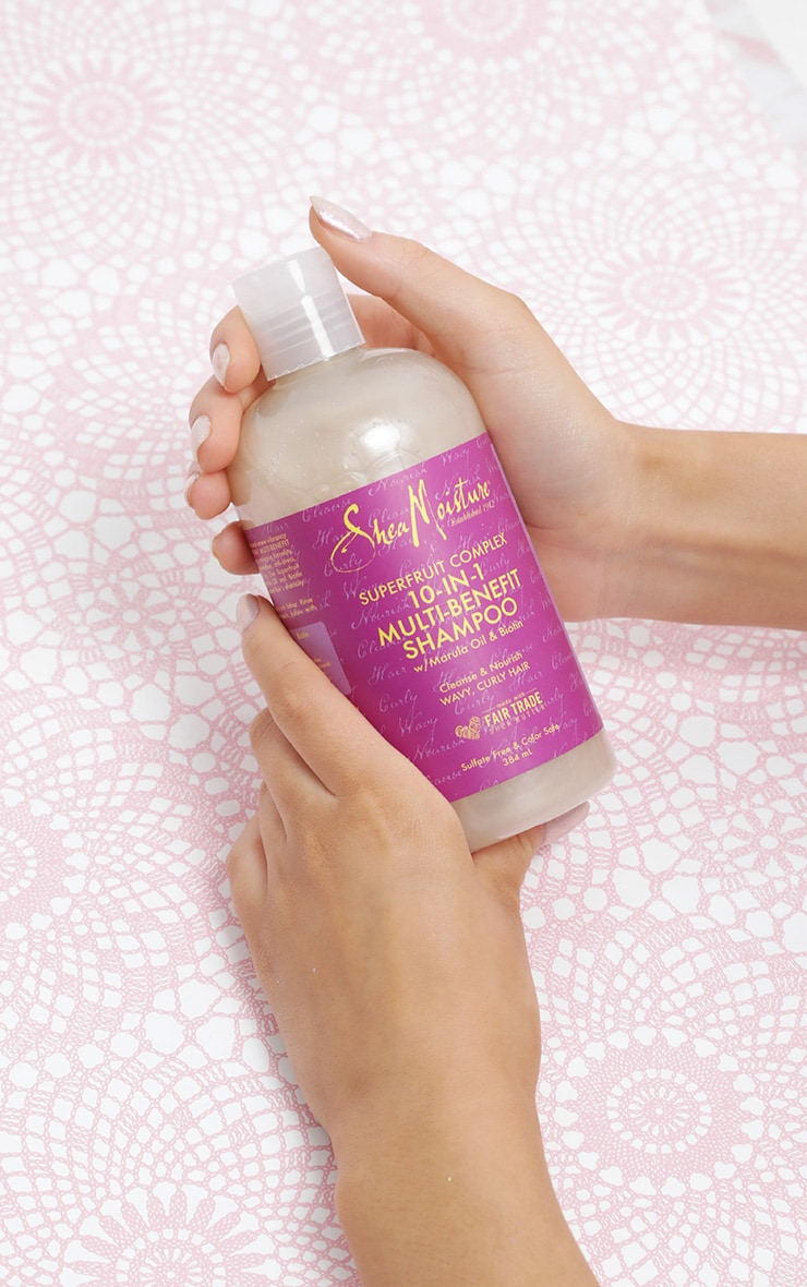 Shea Moisture Superfruit Renewal Shampoo 10 in 1 379ml 1