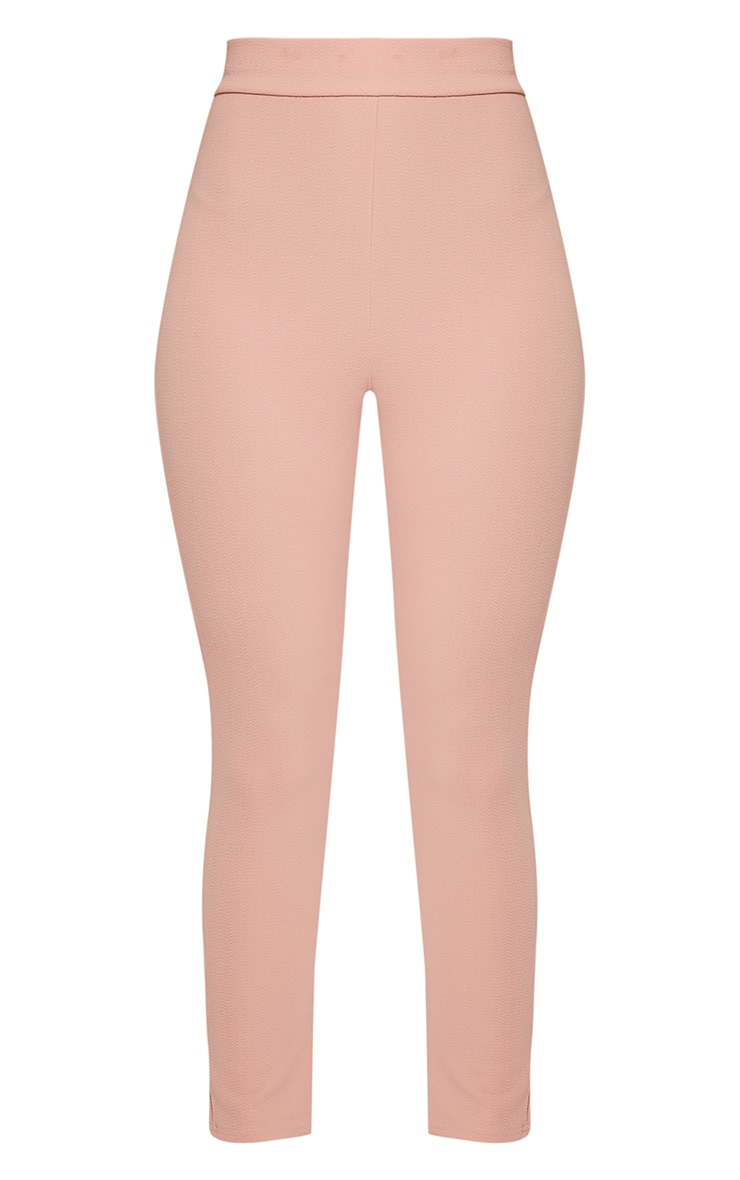 Evalyn Blush Cropped Trousers 3