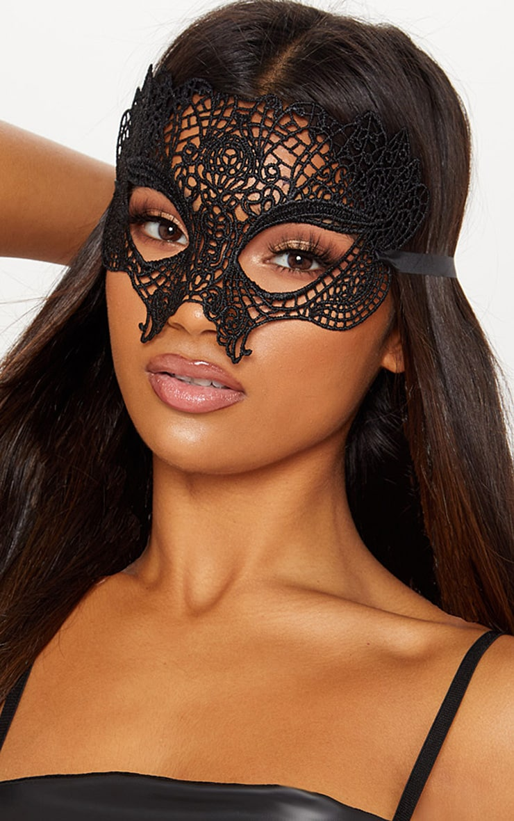 Black Masquerade Masks