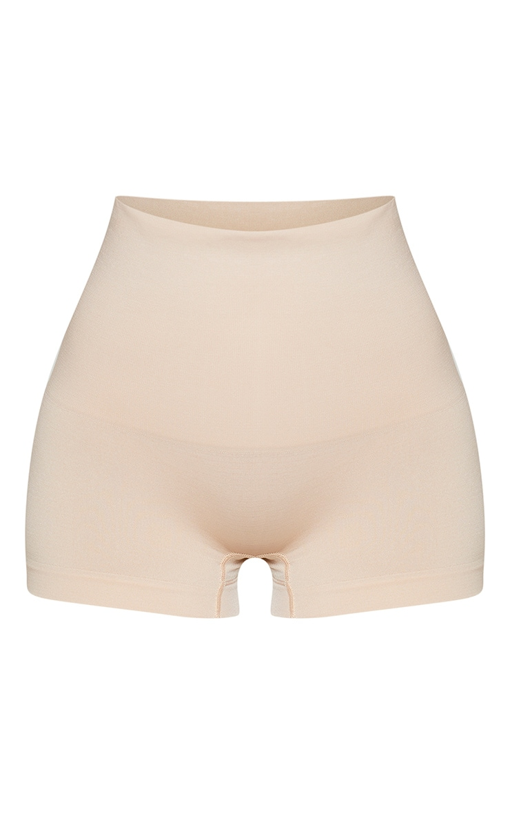 Nude High Waisted Shapewear Shorts 6