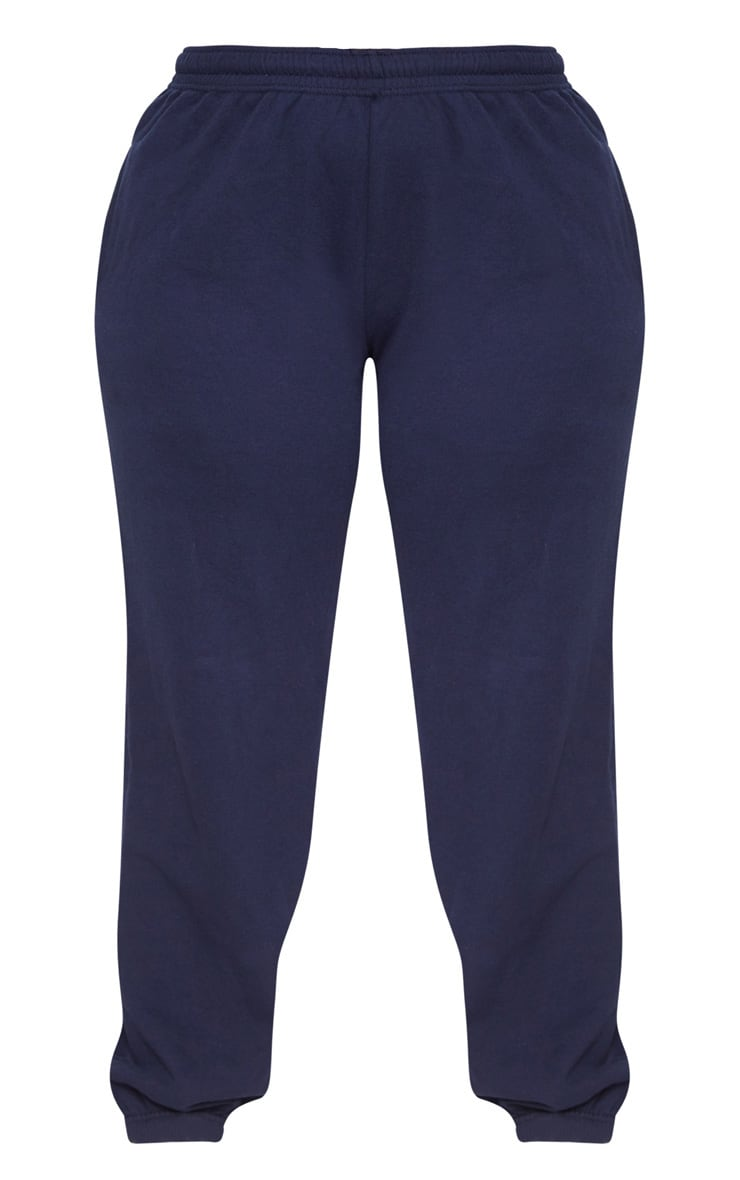 Plus Navy Casual Jogger 3