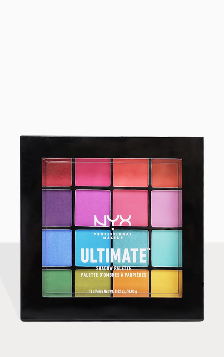 NYX PMU Ultimate Shadow Palette Brights 3
