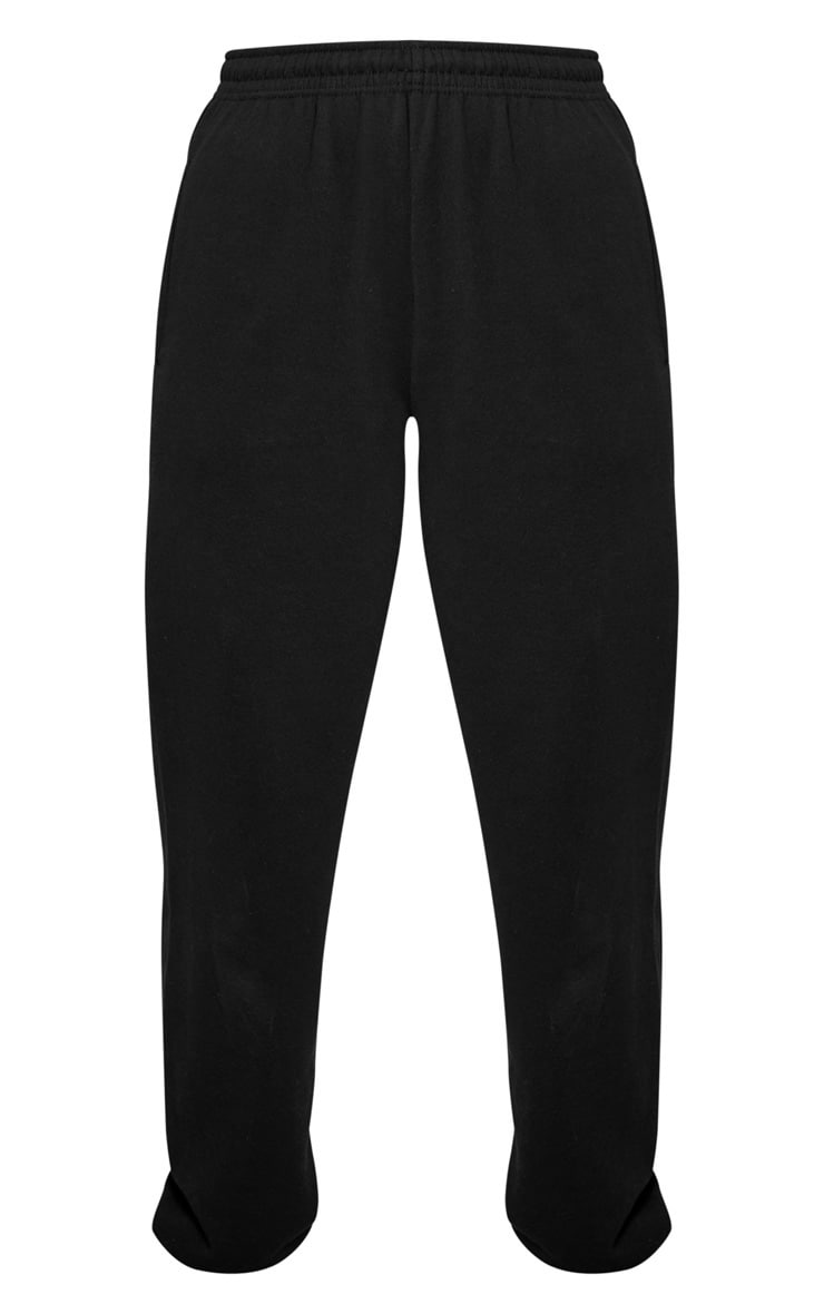 Black Casual Track Pants 3