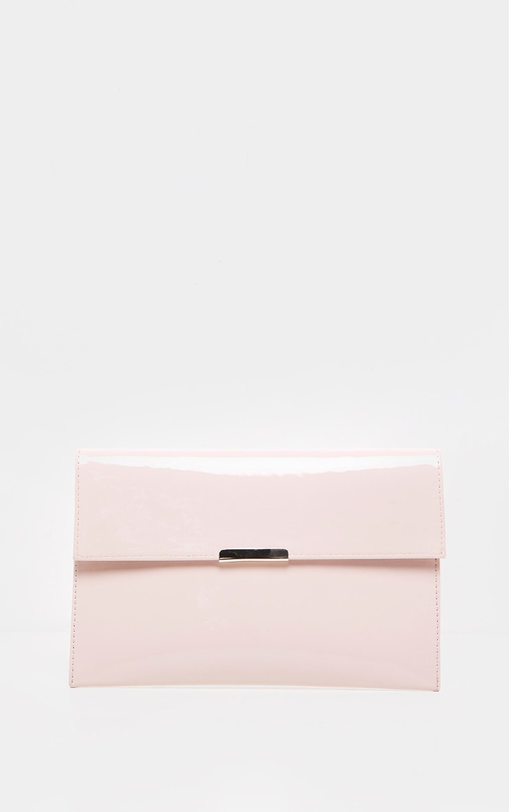 Light Pink Basic Clutch Bag 2
