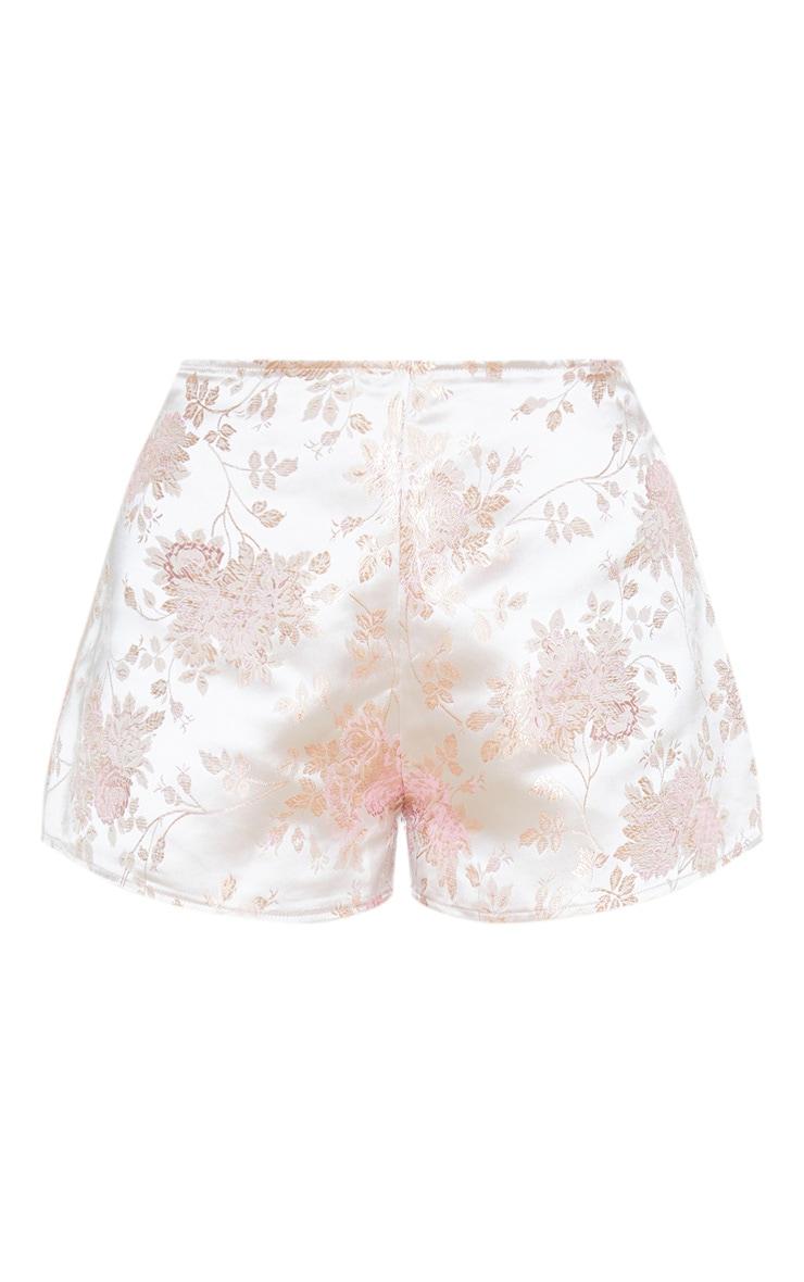 Pink Print Floaty Shorts 3