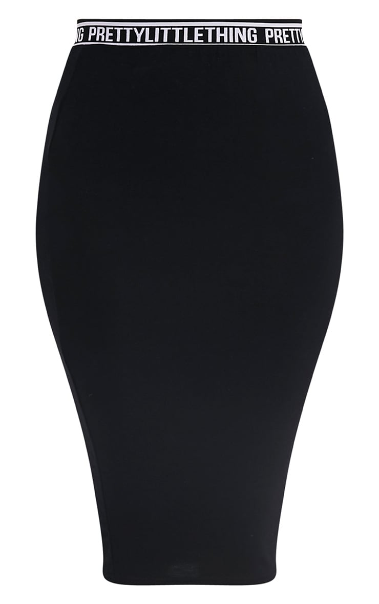 Jupe midi noire Pretty Little Thing 3