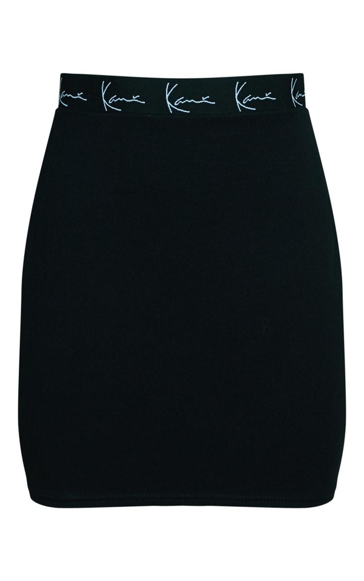 KARL KANI Black Bodycon Skirt  3
