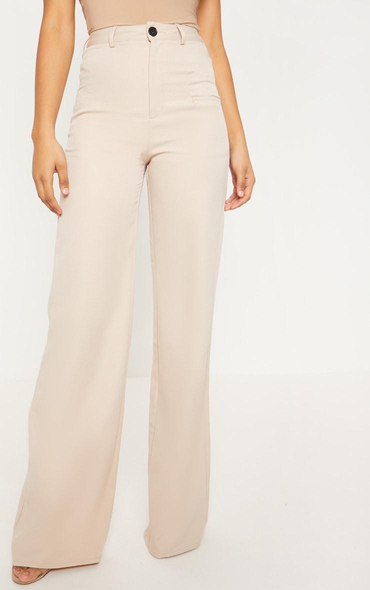 Tall - Pantalon ample gris pierre à poches 2