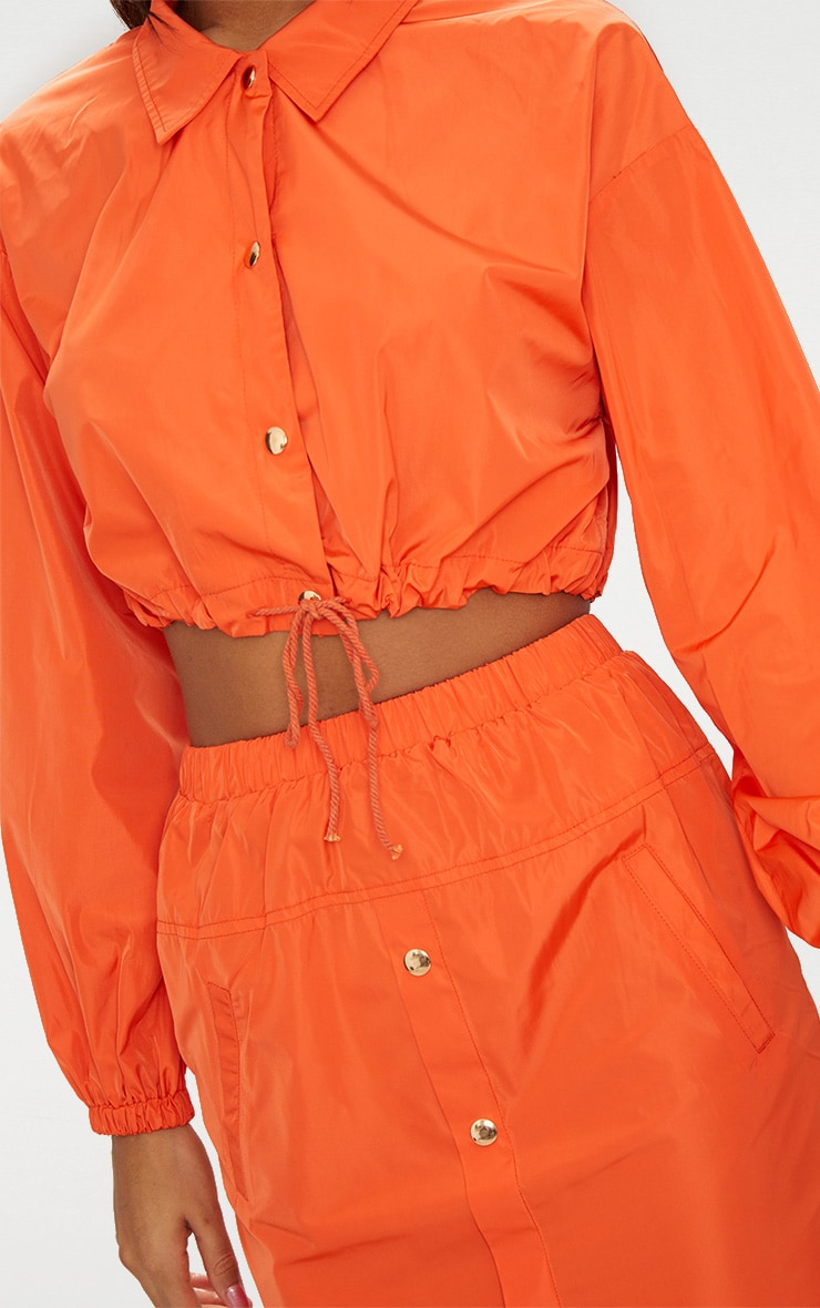 Veste souple orange style sport 6