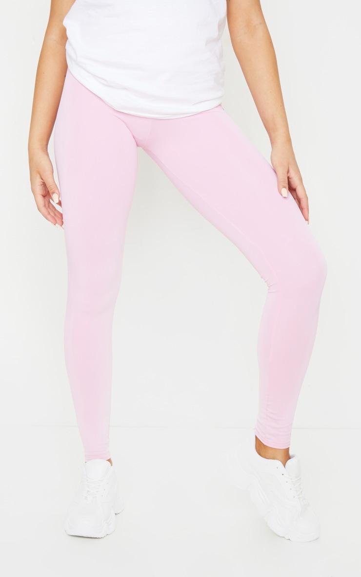 Pink High Waist Gym Legging 2