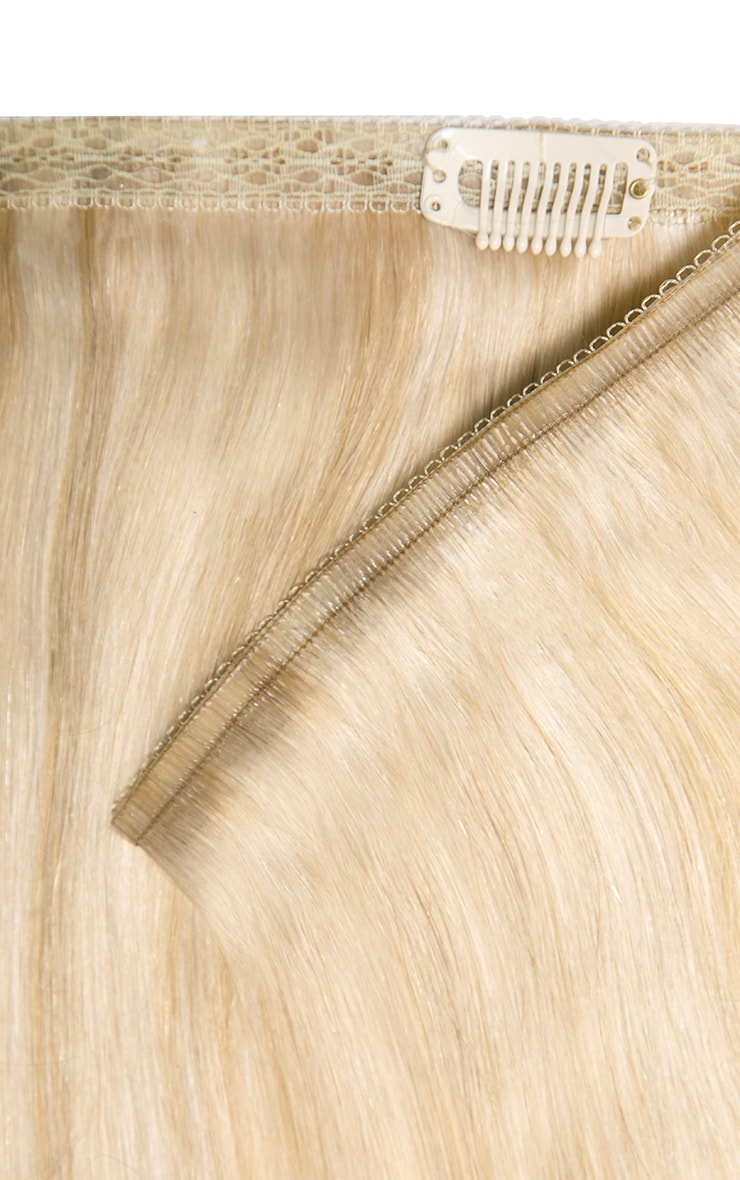 Beauty Works Double Hair Set Weft 18 Inch Champagne Blonde 50 Grams 3