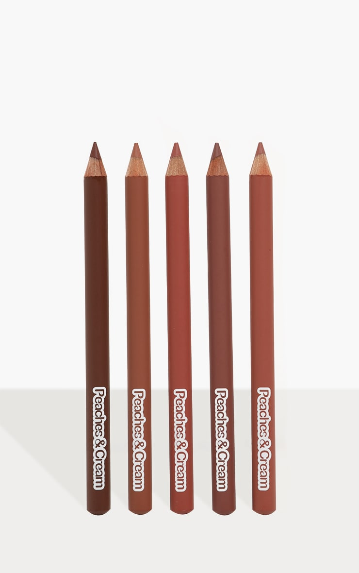 Peaches & Cream Hold The Line 5 Pack Lip Liners 1