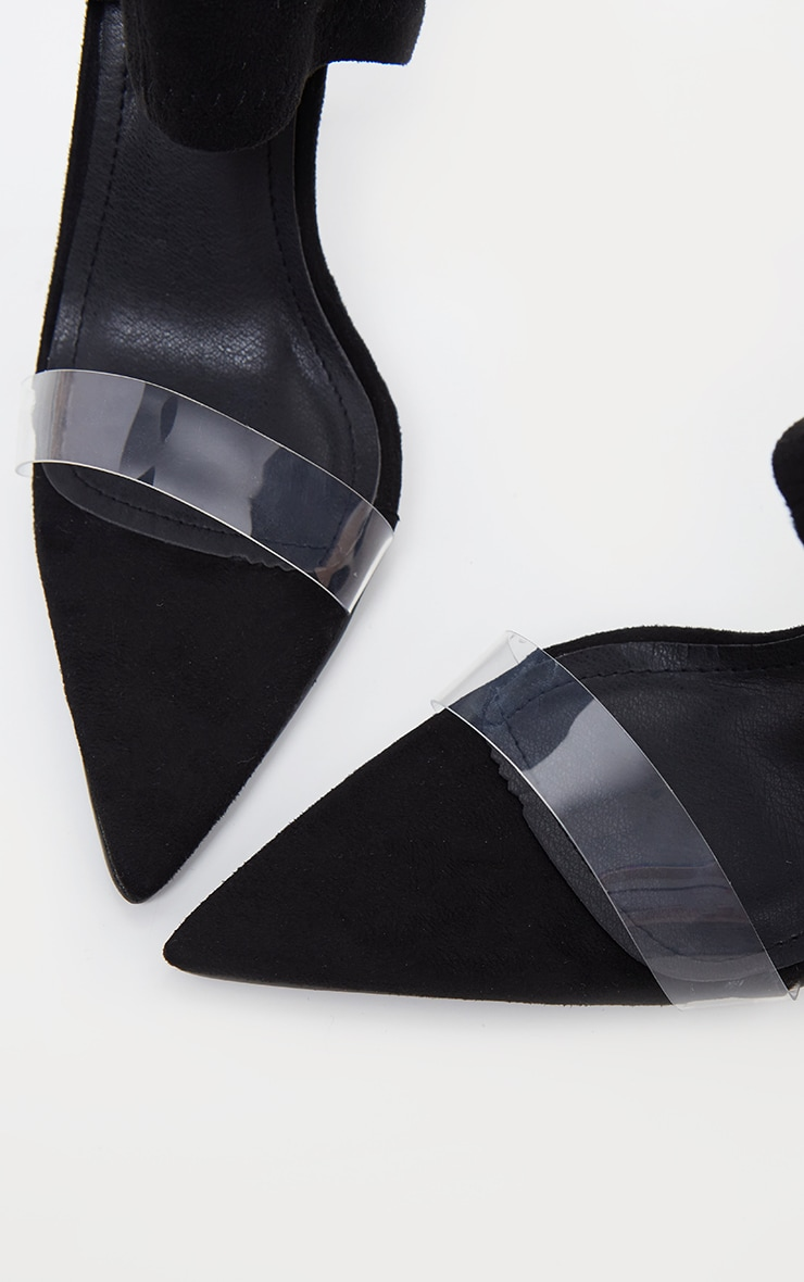 Black Point Toe Lycra Sock Boot 3