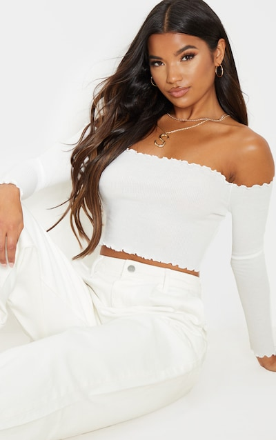 980afd8dd0b Off The Shoulder Tops | Cold Shoulder Tops | PrettyLittleThing AUS