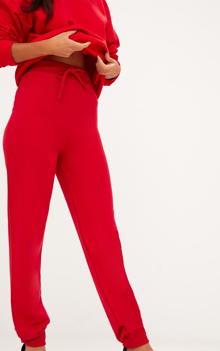 Red Ultimate Sweat Track Pants 7