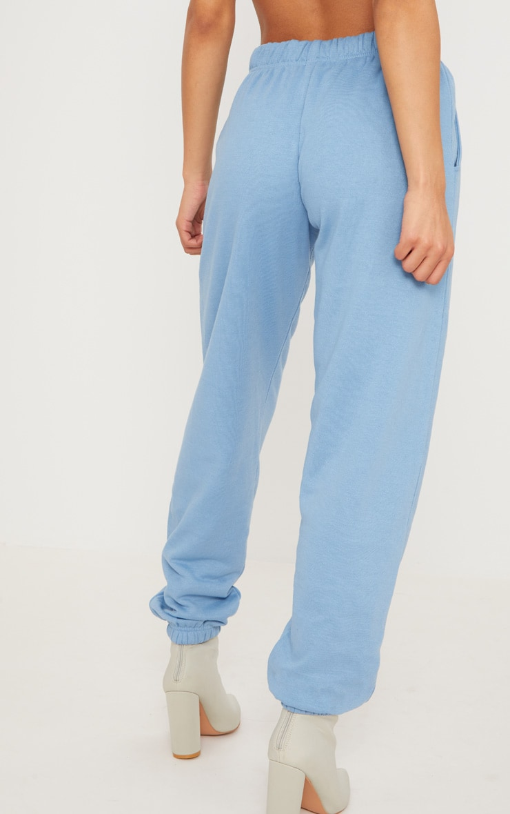 Dusty Blue Casual Jogger 4