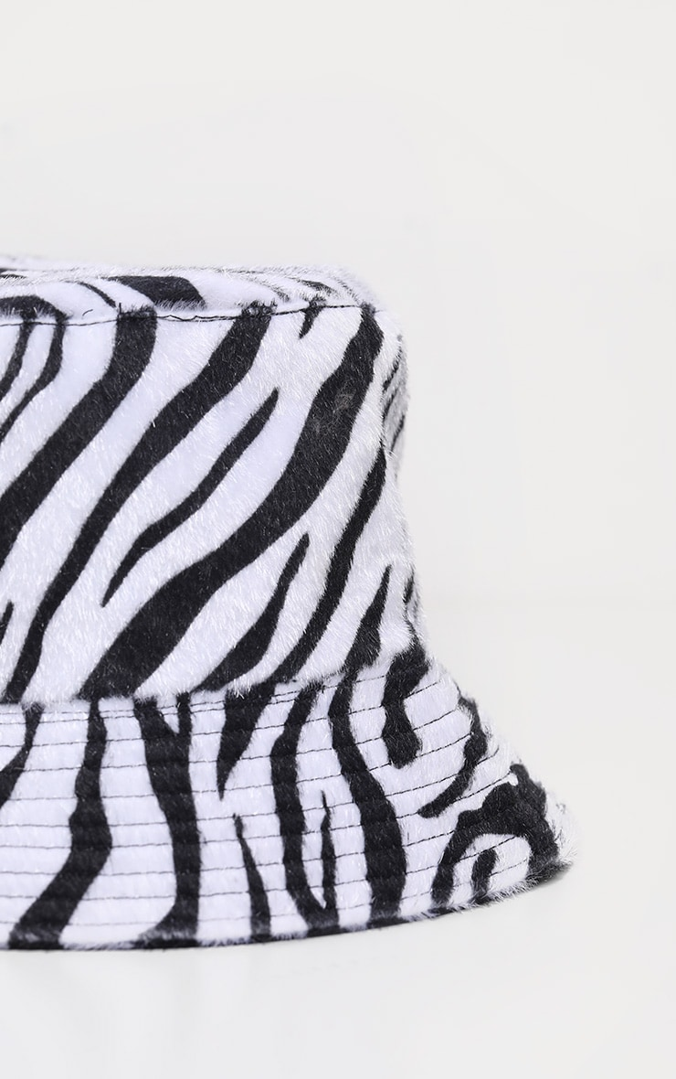 Zebra Bucket Hat 4