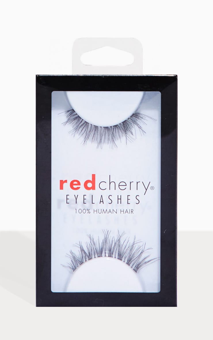 Red Cherry Eyelashes Demi Wispsy 1