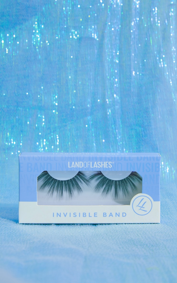 Land of Lashes Honey Invisible Band False Lash  1