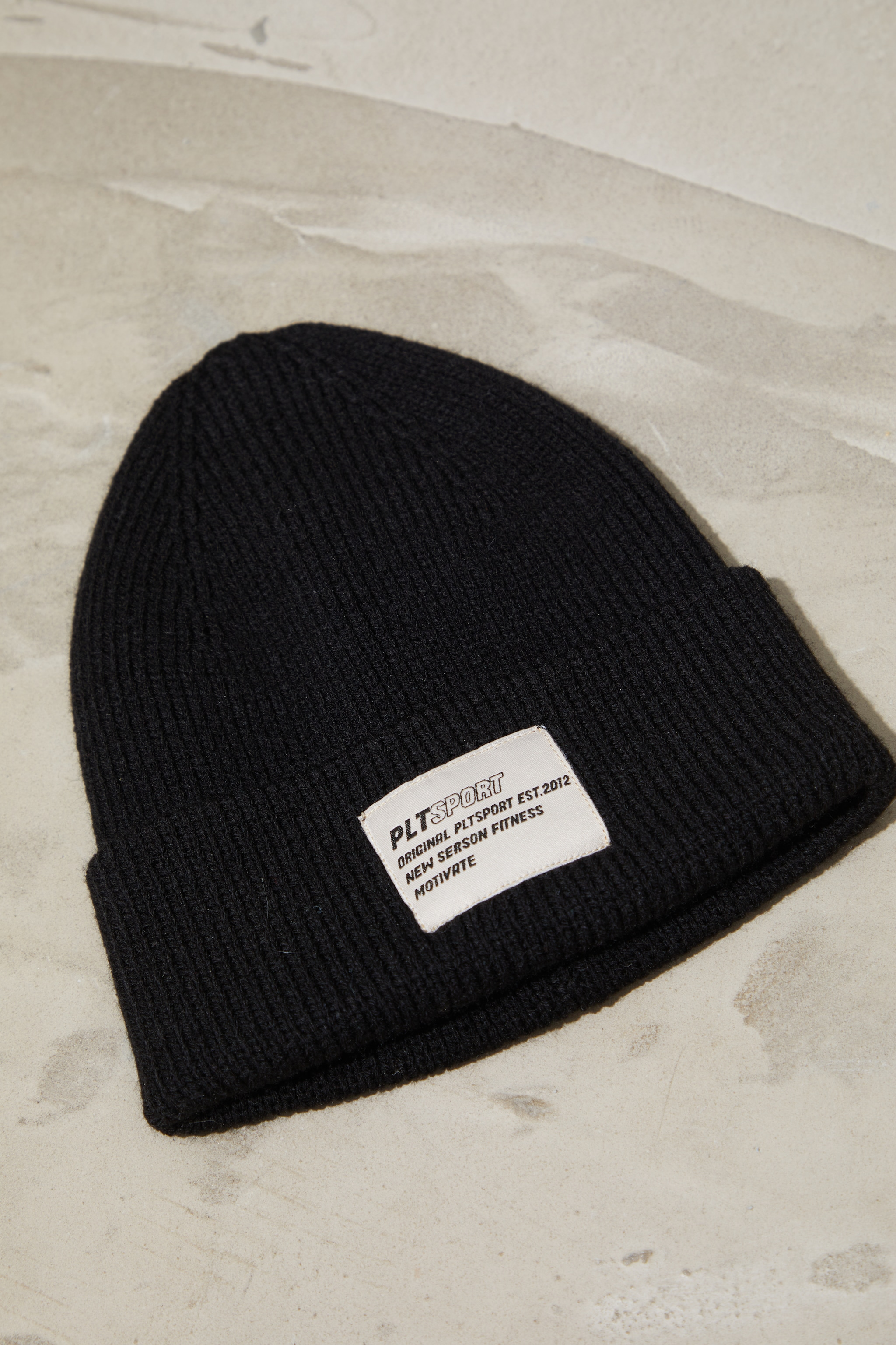 PRETTYLITTLETHING Black  Sports Beanie 2