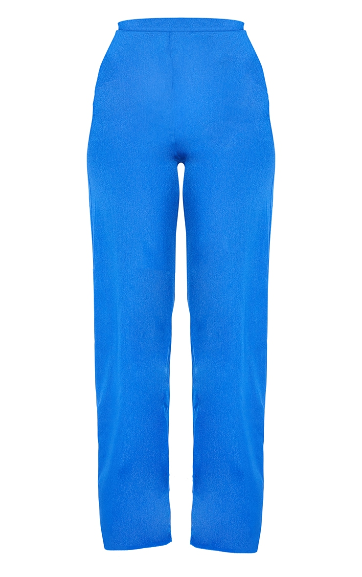Blue Wide Leg Pants 5
