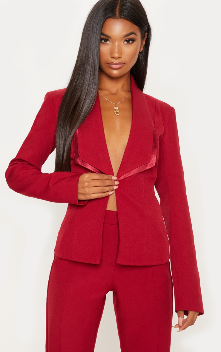 Red Suit Jacket  1
